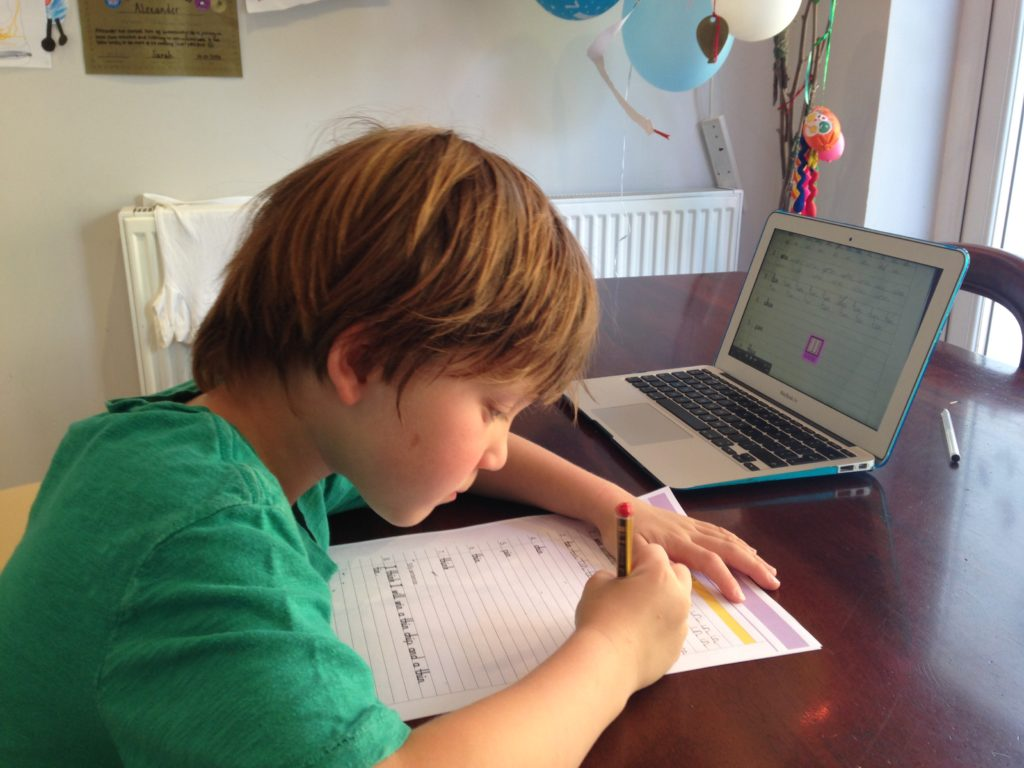 Magic Link Online Handwriting classes